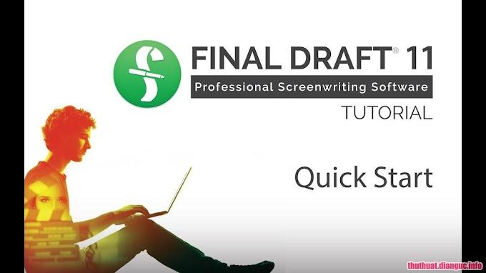 Download Final Draft 11.0.2 Build 57 Full Cr@ck
