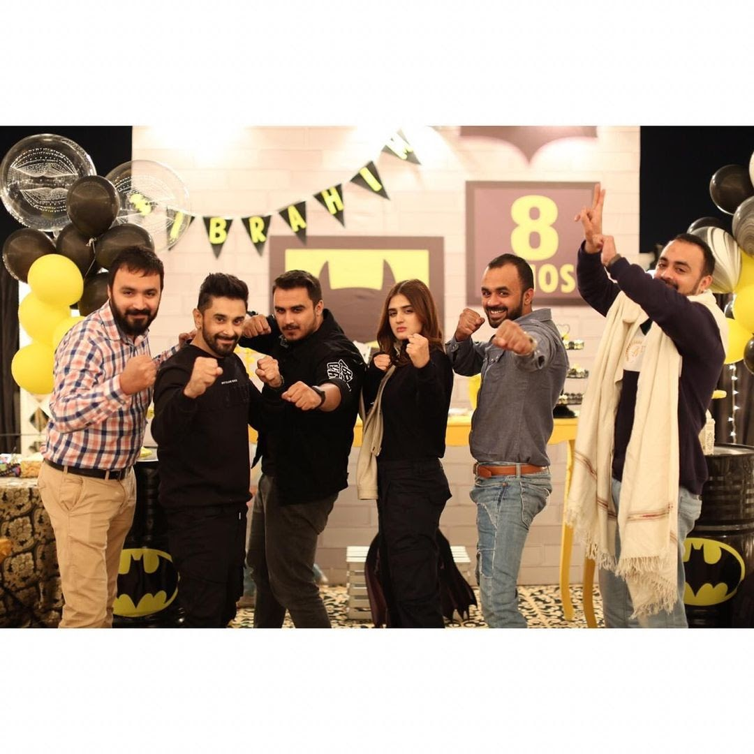 Hira Mani son birthday