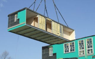 how to insert prefabricated building