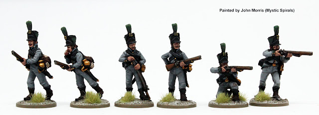 Perry Miniatures: New Napoleonic Swedish Jäger Infantry