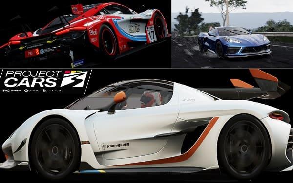 تحميل لعبة project cars 3