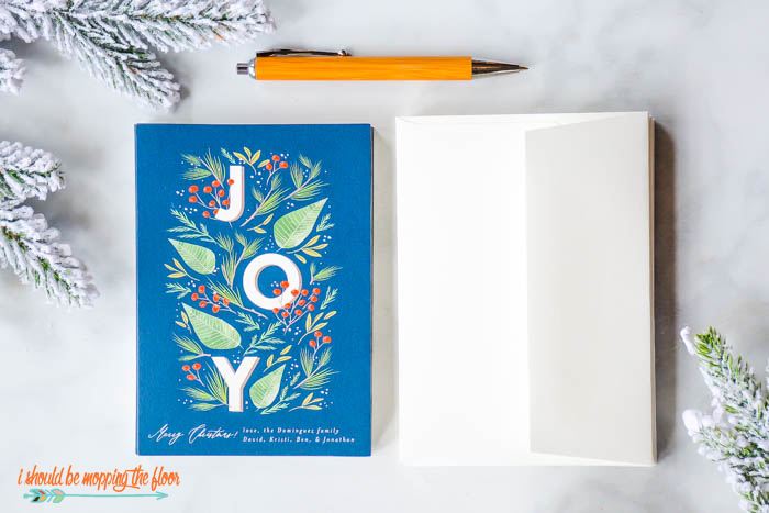 JOY Christmas Cards