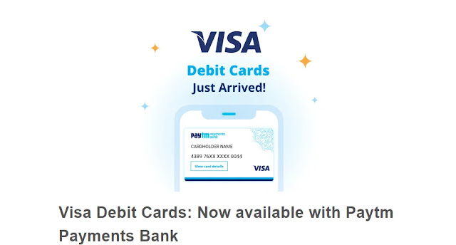 Paytm International Visa Debit Card