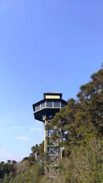 Observatório Ecológico do Parque do Caracol, em Canela, nas Serras Gaúchas