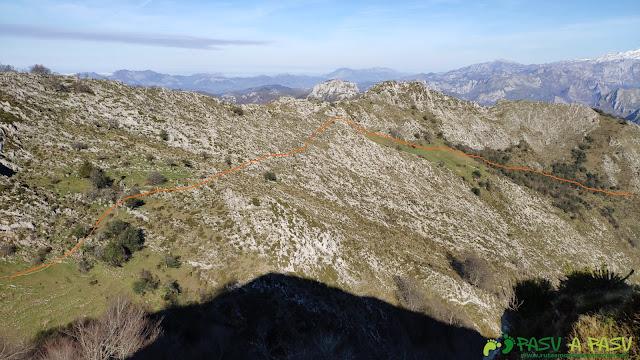 Bajada por Fonciellos desde el Pico Cunio