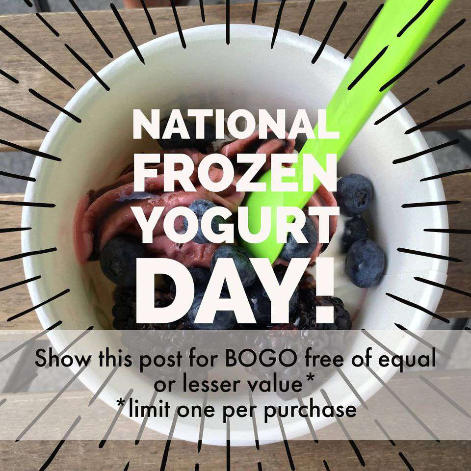 National Frozen Yogurt Day Wishes Unique Image
