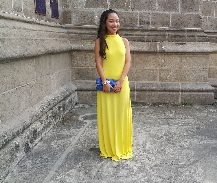 The Budget Fashion Seeker - OOTD Yellow Gown from Florence Fling 2