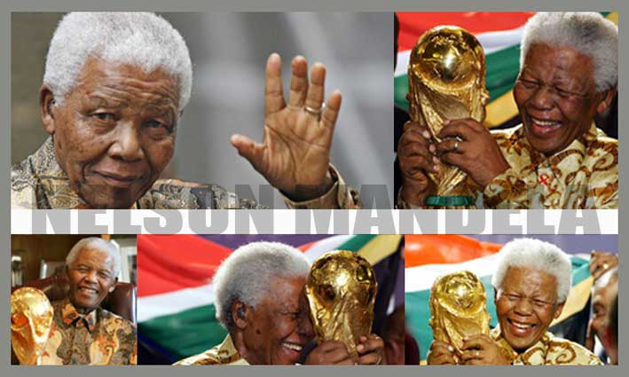 Nelson Mandela brief biography