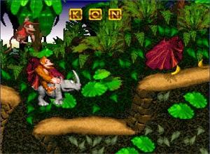 Donkey Kong Country jogo retro da snes