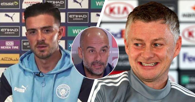 Aston Villa robbed Man City: Man United fans mock Jack Grealish's performance vs Spurs