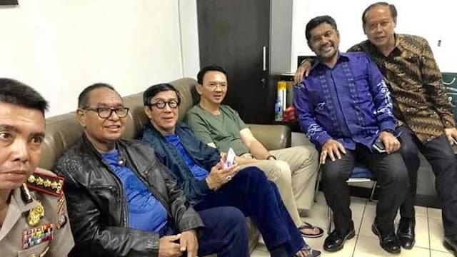Menkum HAM Kunjungi Ahok di Cipinang dan Selfie Bareng, Komnas HAM Berang Melihatnya