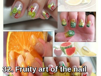 Fruity art of the nail
