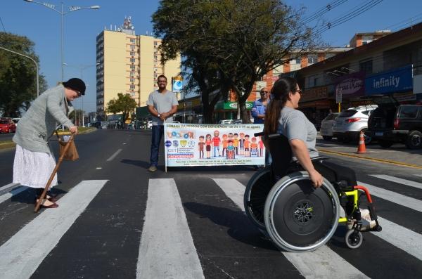 Prefeitura de Cachoeirinha realiza ação em alusão à Semana da Pessoa com Deficiência