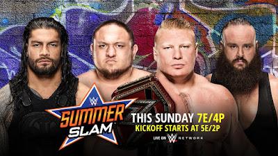 Ver WWE SummerSlam 2017 En vivo 20/08/2017