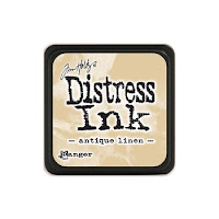 Distress Mini Ink Pad ANTIQUE LINEN