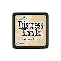Distress Mini Ink Pad ANTIQUE LINEN