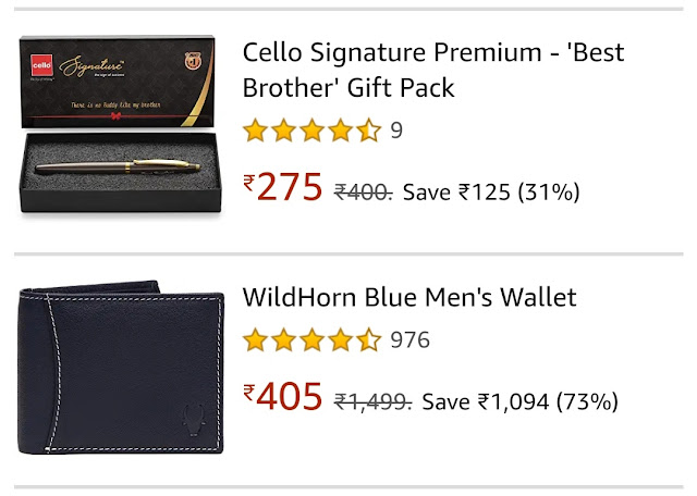 Bhaiya Dooj Gifts Online for Brother Pen and Purse