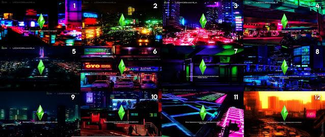 Sims 4 Pinoy Stuff Pack Cyberpunk Manila