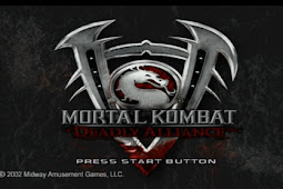 Mortal Kombat Deadly Alliance PS2/PCSX2/Damon ISO [2.93 GB]