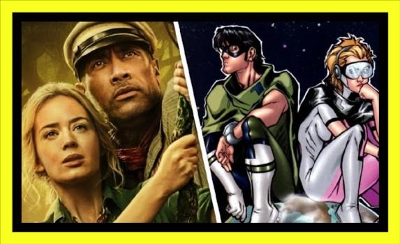 🟢 EMILY BLUNT y DWAYNE JOHNSON negocian para hacer una comedia de Superheroes!