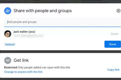 How to Use The New Google Drive Sharing Options