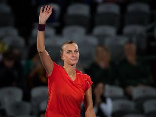 Petra Kvitova at Sydney Olympic Park