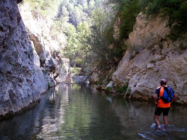 Senderismo rio Villahermosa