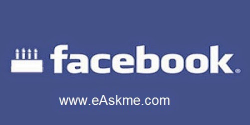 How to Hide Your Birth Date on Facebook : eAskme
