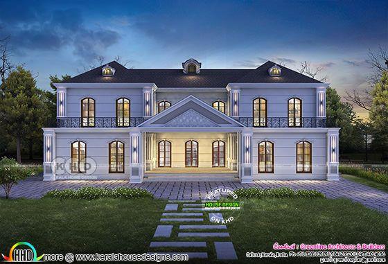 5 bedroom luxury house plan architecture