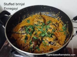 Ennegayi recipe in Kannada