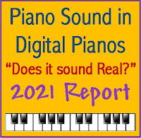 Piano sound in digital pianos - does it sound real? Report