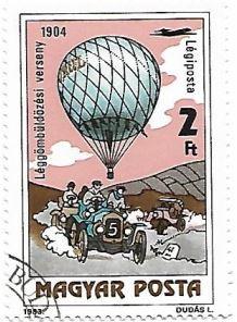 Selo Corrida de balões