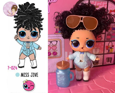 Miss Jive L.O.L. Surprise doll #hairgoals wave 1
