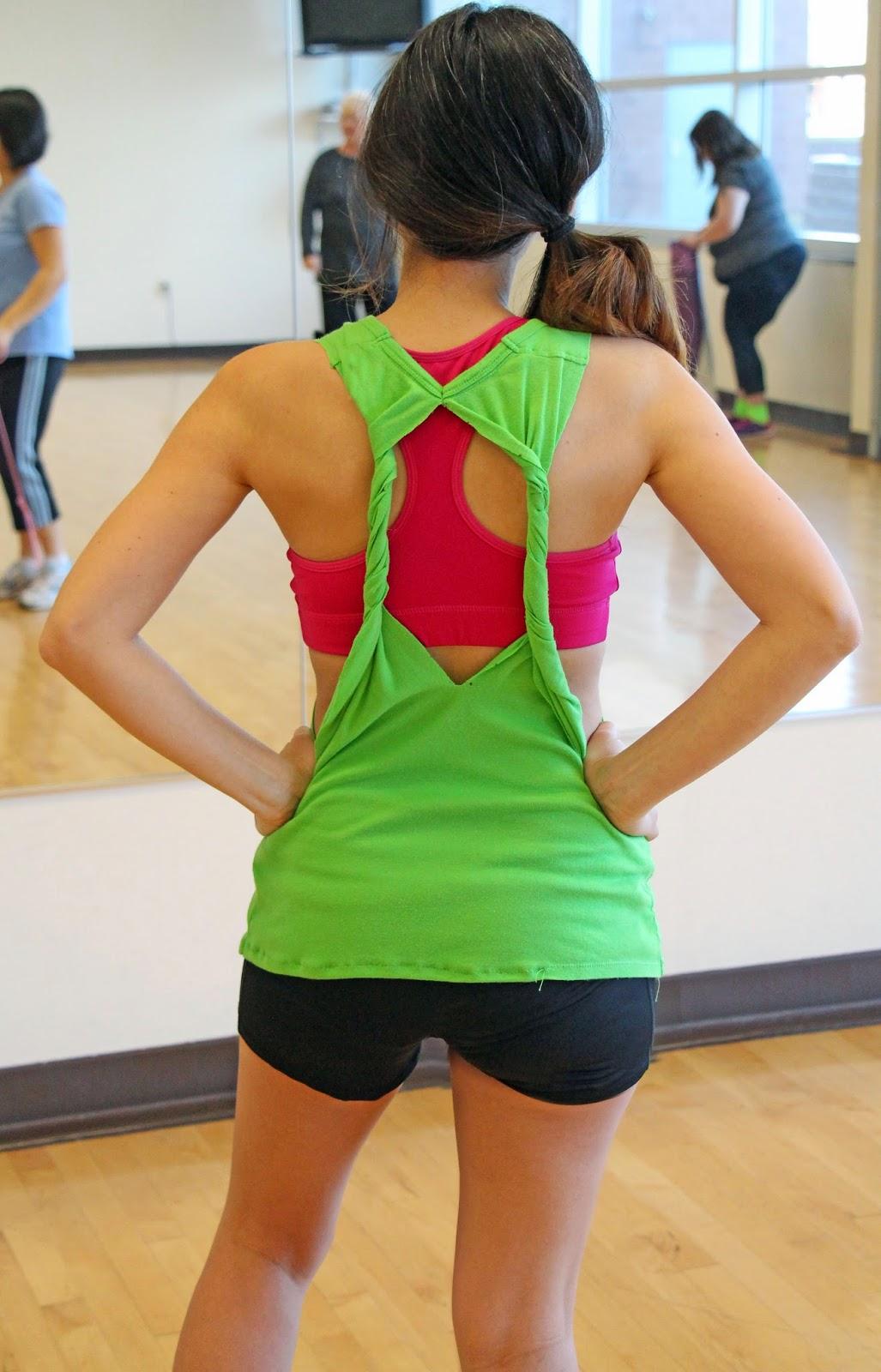 Grosgrain: 30 Days of DIY Workout Wear: Day 1