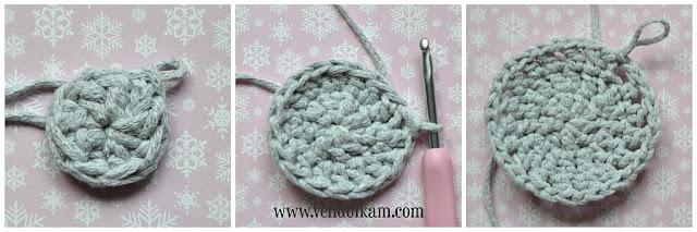 Crochet placemats - free crochet pattern by VendulkaM