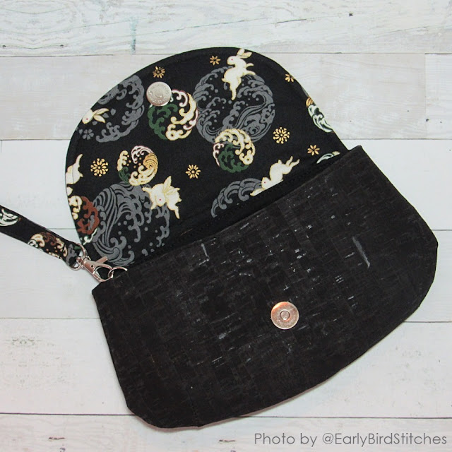 pattern for elegant clutch