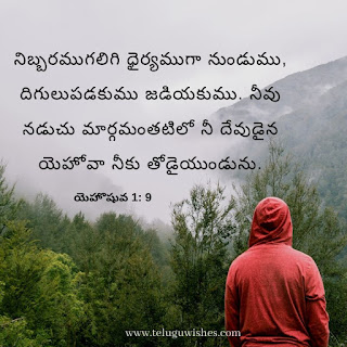 Bible Quotes In Telugu hd