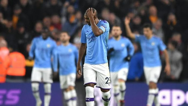 Fernandinho Admits City at Risk of Failing to Finish in the Big Four