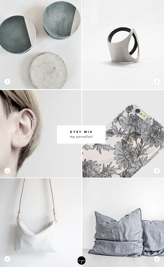 Handmade jewelry, accessories and homeware from Etsy. Picks by My Paradissi