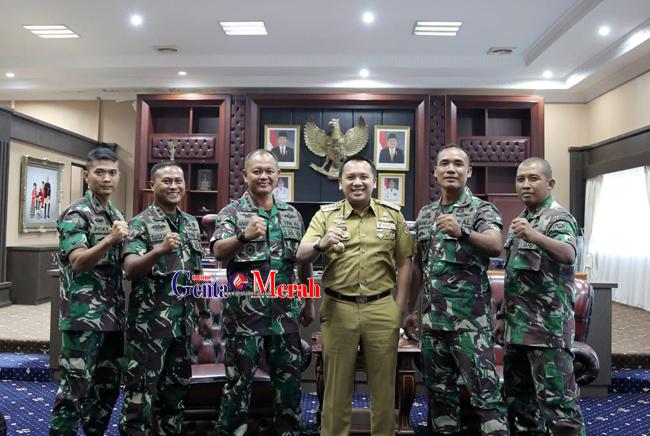 Gubernur Lampung Harapkan Marinir Beri Kontribusi Berbagai Bidang