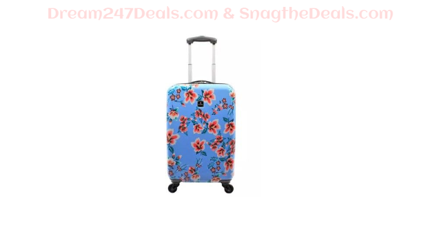 """Gallery 20"""" Hardside Carry-On Spinner Suitcase  Sale $39.99"""