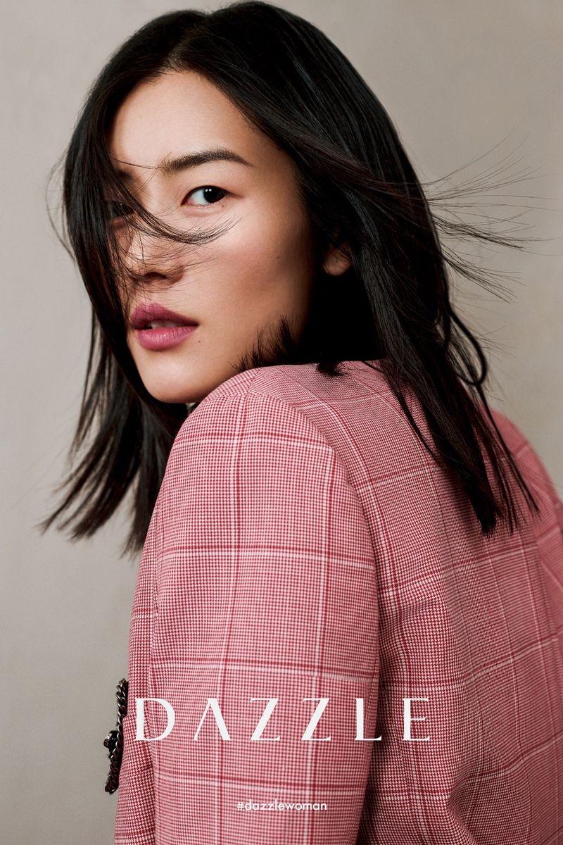 Liu Wen stars in Dazzle fall-winter 2020 campaign.