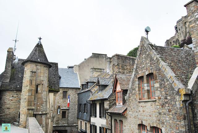 Zona inframuros del Mont Saint-Michel