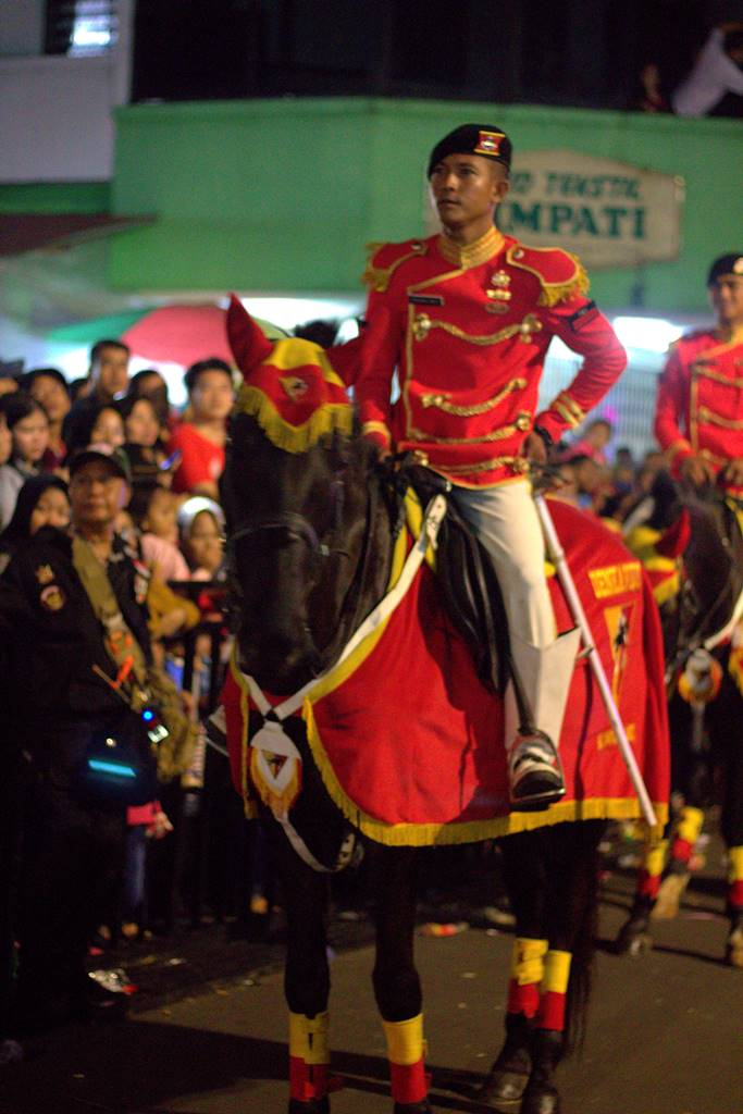 Indonesia's Cavalry Man