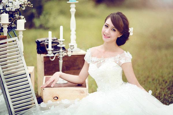 4 mẫu váy cưới 'cứu cánh' cho cô dâu gầy