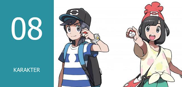pokemon sun and moon character