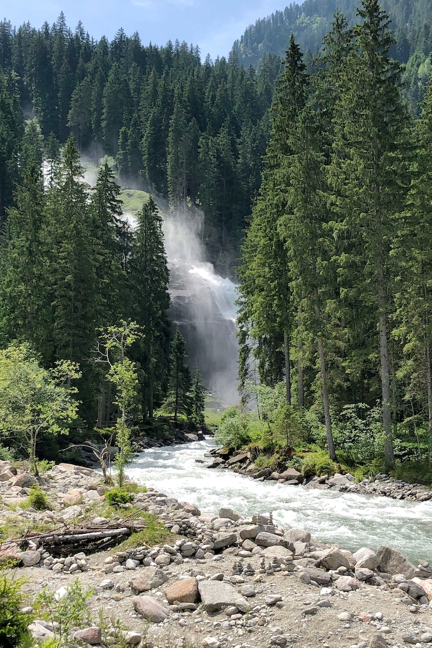 Unterer Wasserfall Krimml