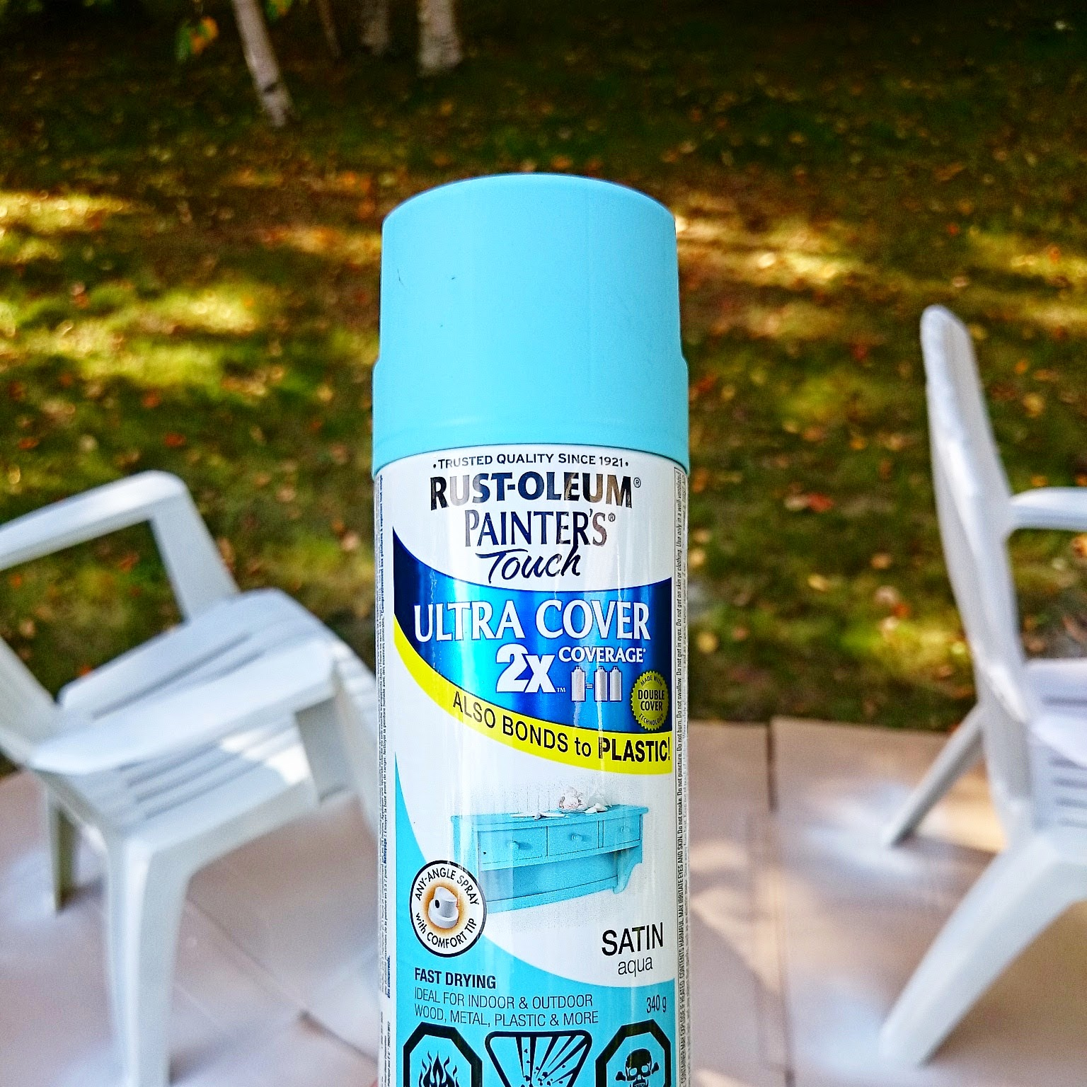 Review of Rust-Oleum Spray Paint on Plastic