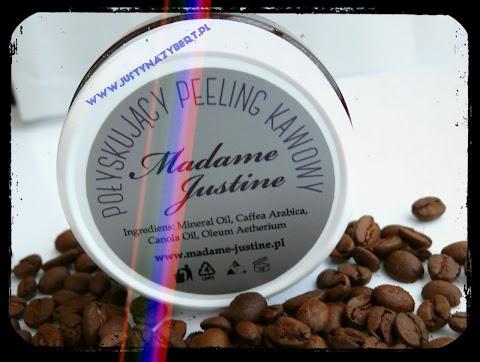 Połyskujący peeling kawowy Madame Justine