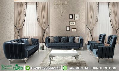 Set Sofa Tamu Mewah Modern Antika